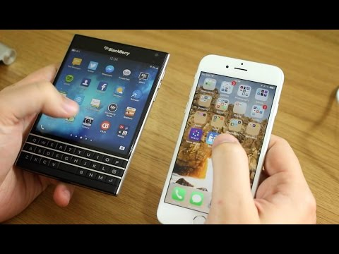 BlackBerry Passport Challenge: Day 1 - Switching from an iPhone