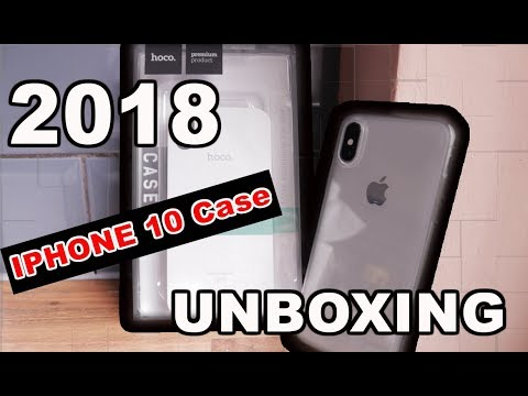 Clear Case for iPhone X - best 2018 Case | Unboxing