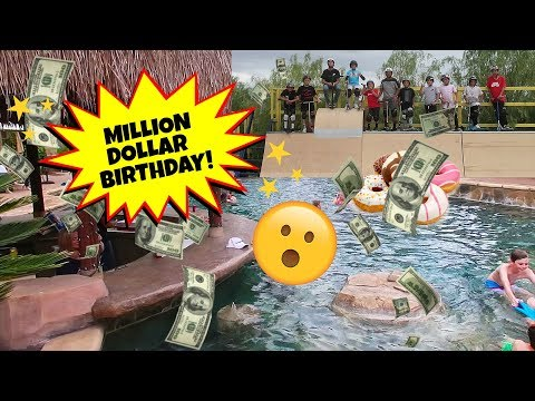 A MILLION DOLLAR BIRTHDAY PARTY! (FT. REVIN CACHAT)