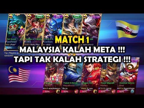 MALAYSIA KALAH META !!! TAPI TAK KALAH STRATEGI !!! MALAYSIA VS BRUNEI - ARENA CONTEST