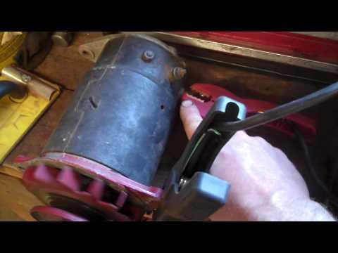 Tractor Restoration - 12 Volt Generator Test