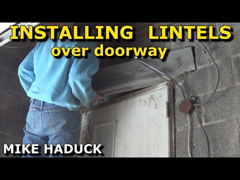 How I install and make lintels (Mike Haduck)
