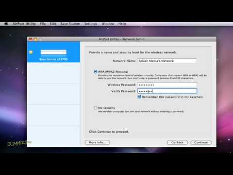 How to Set Up a WiFi Network on a Mac For Dummies