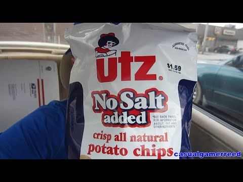 Reed Reviews Utz No Salt Added Potato Chips