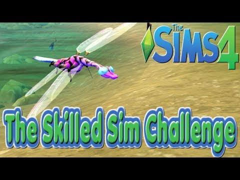 Collecting Insects : Episode 10 : Sims 4 : The Skilled Sims Challenge