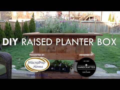 How To Build A Raised Planter Box - A DIY Guide with Chris Palmer