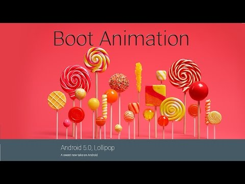 Android 5.0 Lollipop Boot Animation