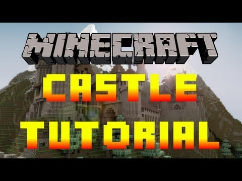 Minecraft - How to Build a Castle Tutorial - Xbox/PC/PE (Fast and Easy!)