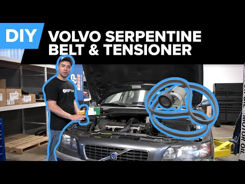 Volvo S60 Serpentine Belt and Tensioner Replacement | FCP Euro