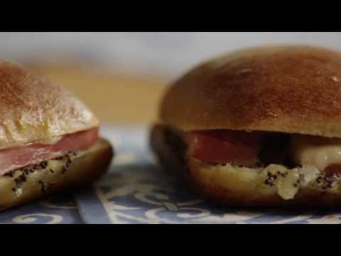 How to Make Ham and Cheese Appetizer Sandwiches | Sandwich Recipes | Allrecipes.com