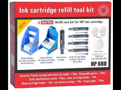 how to refill hp ink cartridge