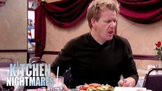 Disgusting Octopus is as Chewy as Bubble Gum!   Kitchen Nightmares