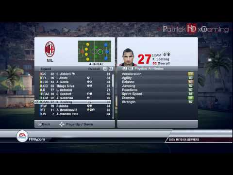 Fifa 12 | How to play with: AC Milan | Tips & Tricks | by PatrickHDxGaming