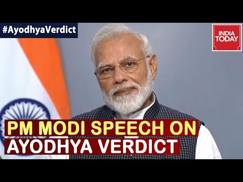 Xxx Mp4 Ayodhya Verdict Shows Indian Democracy Alive And Strong Says PM Modi In His Speech 3gp Sex
