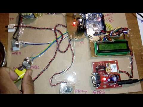 IOT Air & Water Quality Monitoring System