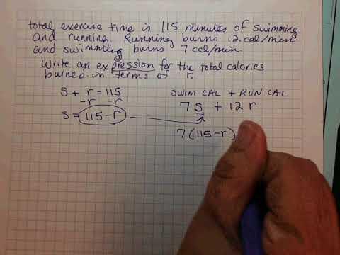 TSI-1 Example - Swimming and Running