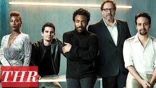 Lin manuel Miranda Donald Glover Issa Rae Damien Chazelle Epic Conversation On Creativity Thr