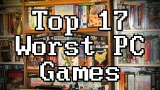 LGR - Top 17 Worst PC Games