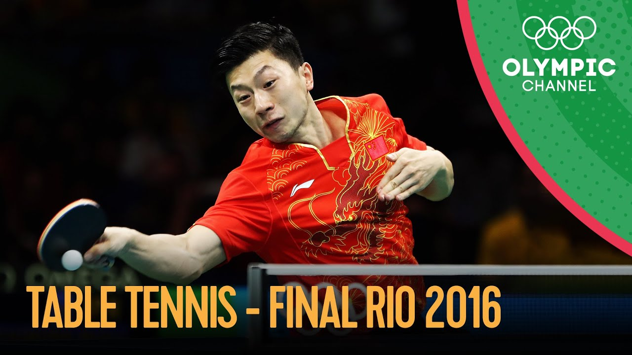 Table Tennis - Team Gold Medal Match 🇨🇳🆚🇯🇵 Full Match   Rio 2016 Replays