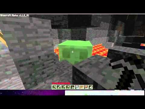 Minecraft: Slime on Peaceful