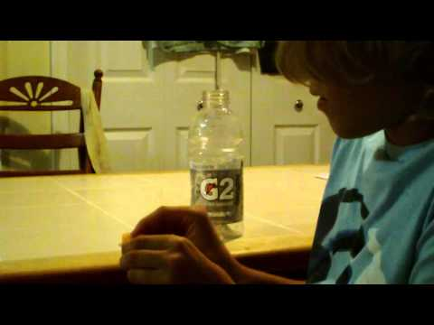 How to make a weapon out of a Gatorade bottle.