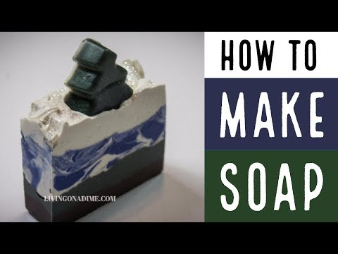 How To Make Cold Process Soap with Lye