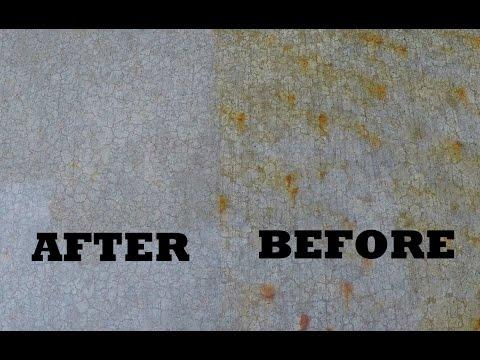 Remove Fertilizer Stains from Concrete - Driveway, Pavement, Patio