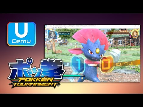 How to Play Pokken Tournament on PC (Cemu Wii U Emulator)