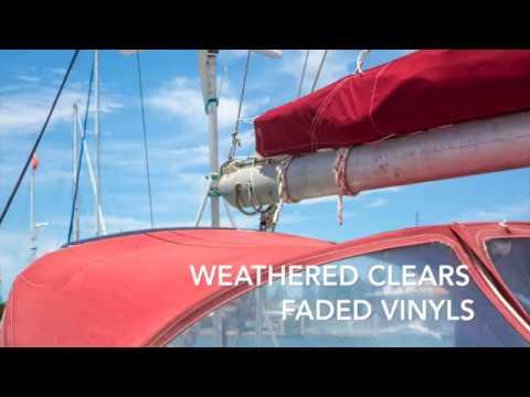 MagicEzy UV Shield - Durable Clear Plastic Bimini, Eisenglass, Strataglass Cleaning/Protection