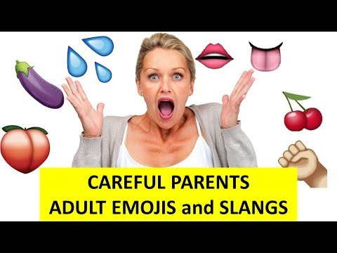 Interesting facts | emoji every parents should know | Peach | eggplant | water
