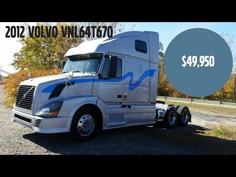 Wheeling Truck Center 2012 Volvo VNL64T670 Used Truck for Sale
