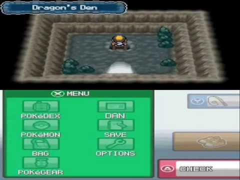 Pokemon Heart Gold Walkthrough 50 - Dragons Den