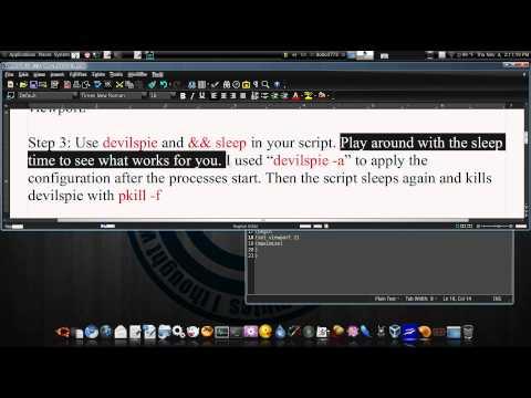How I Got Devilspie To Work Ubuntu 10.04