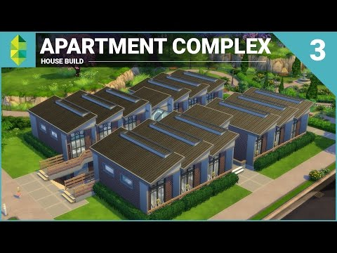 The Sims 4 House Building - Apartment Complex (Part 3)