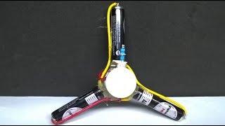 How To Make A MOTOR Fidget Spinner