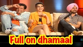 Diljit Dosanjh | Kriti Sanon | Varun Sharma - Exclusive interview - Arjun Patiala
