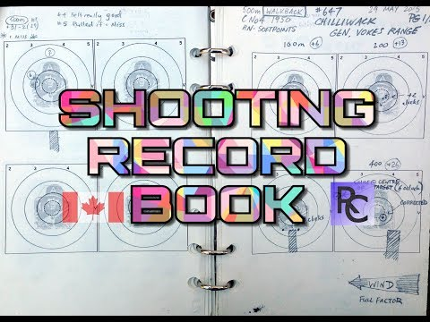 The Basic Shooting Record Book