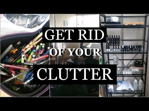 HOW TO GET RID OF CLUTTER | MINIMALISM METHODS | Lia's Loft