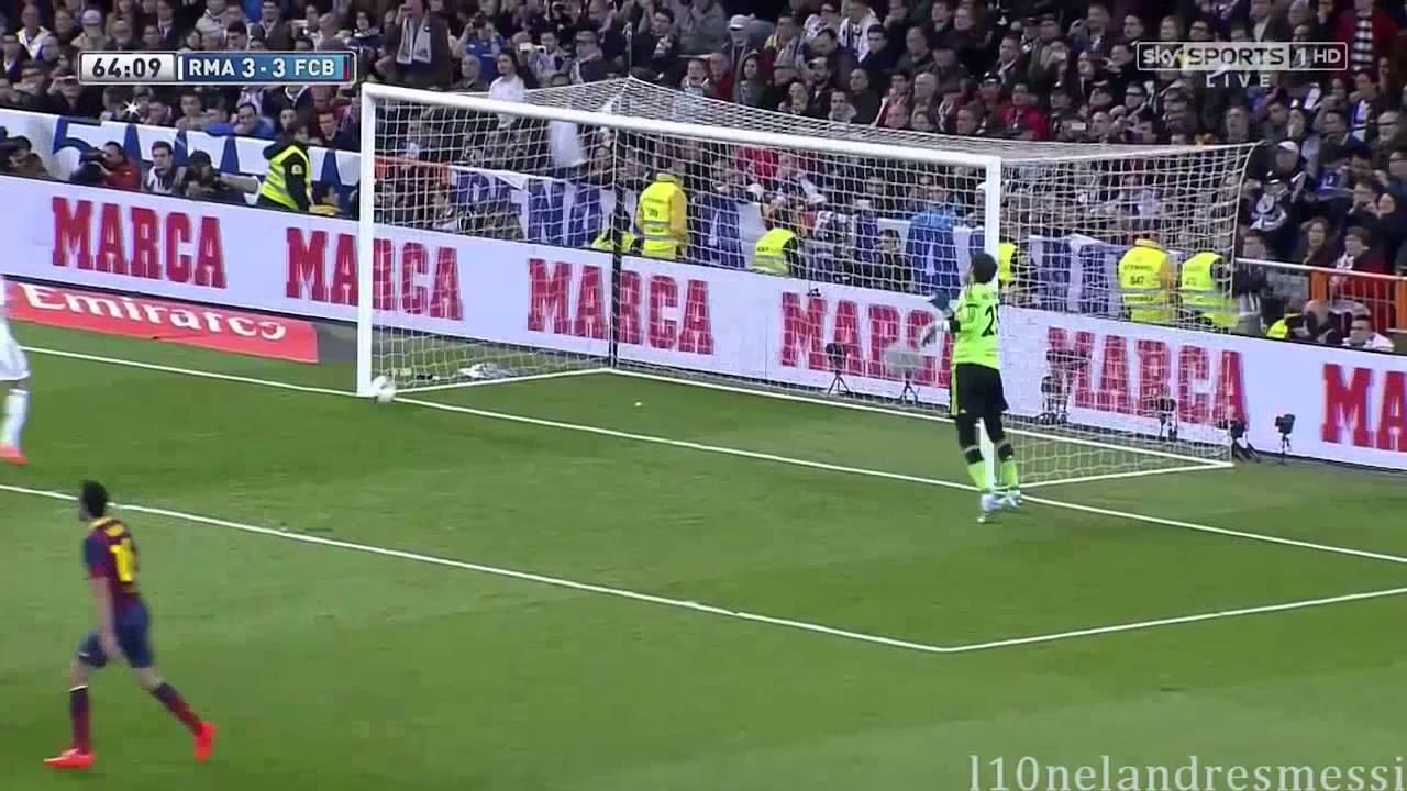 23 03 2014西甲聯賽  皇家馬德里Vs巴塞羅那賽果3比4