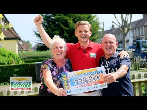 Street Prize Winners - N14 4QJ in Southgate on 02/06/2018 - People's Postcode Lottery