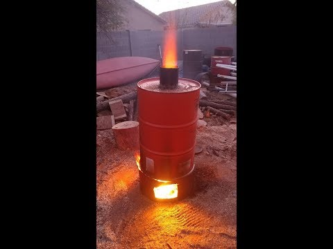 How to make charcoal in your backyard