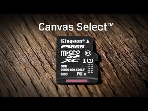 UHS-I Speed Class 1 microSD Cards - Canvas Select - Kingston Technology