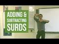 Adding & Subtracting Surds
