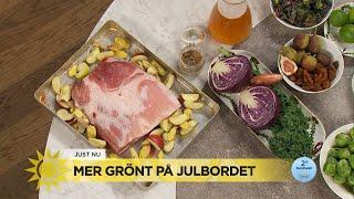 Få grön inspiration till julbordet med Myllymäki - Nyhetsmorgon (TV4)
