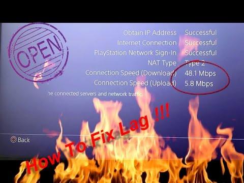 طريقة رهيبة تجعل سرعة النت صاروخ على البلايستيشن 2017 - ستندم ان لم تشاهد الشرح!works on all routers