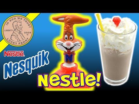 Nestle Nesquik Chocolate Milk Shake Maker - My 16 Year Old Shake Tasted Great!
