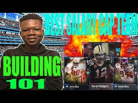 HOW TO MAKE THE BEST SALARY CAP LINEUP!!! | MADDEN 18 ULTIMATE TEAM (SC) BUILDING