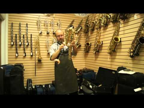 Cleaning your Alto Saxophone