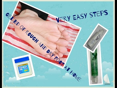 Rough and dry feet Home Remedy