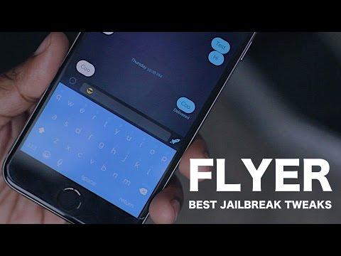 Flyer - Best Jailbreak Tweaks for iPhone and iPod